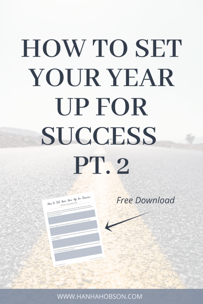 how to set your year up for success, yearly planning, quiet time, time with god, new year, faith, christian, faith blogger