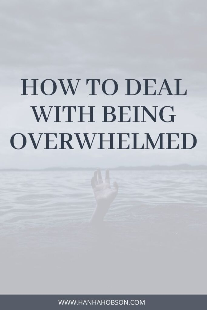 how to deal with being overwhelmed, overwhelming, stress advice, college student advice, anxiety, christian blogger, faith blogger, faith blog, bible study